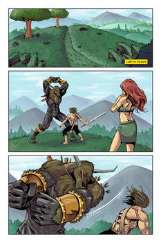 Dalrak the Mighty #2 page 1