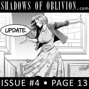 Shadows of Oblivion #4 p13 - update!