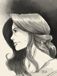 Twitch Sketch: Athaliah profile by Shono