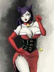 Twitch Sketch: Christmas Scarlet