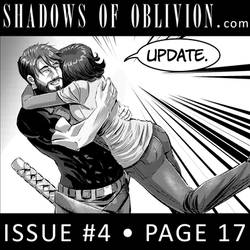 Shadows of Oblivion #4 p17 - update! by Shono