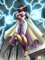 COMMISSION: Thunder Woman