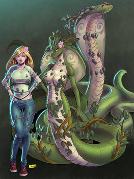 COMMISSION: Plantcobra