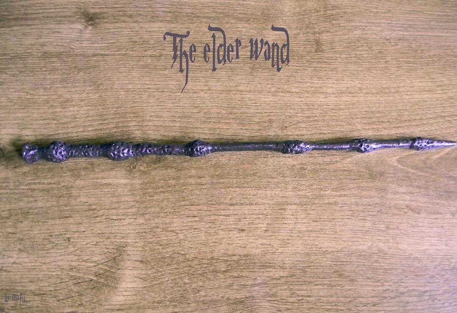 The elder wand by mafii483 on deviantart for Elder wand made of