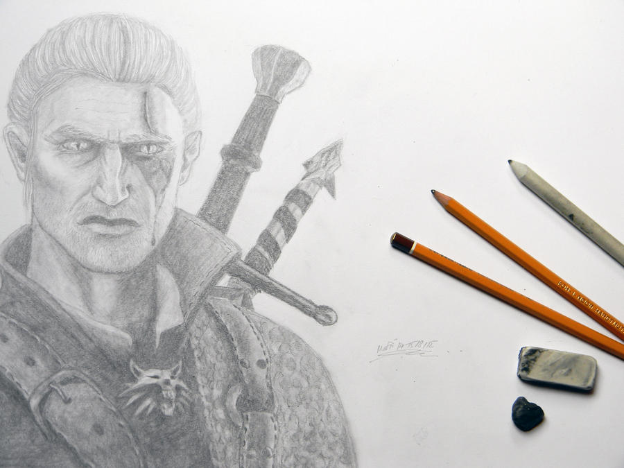 witcher geralt of - photo #15
