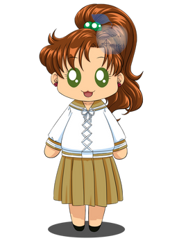 Chibi - Makoto Kino - Sailor Moon FanArt