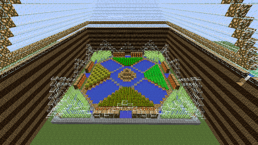 Minecraft Farm by jacobcrochet on DeviantArt
