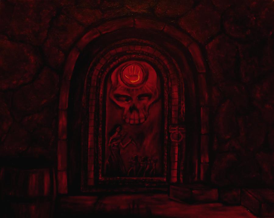 Dark brotherhood Door by SN--ART ... & Dark brotherhood Door by SN--ART on DeviantArt