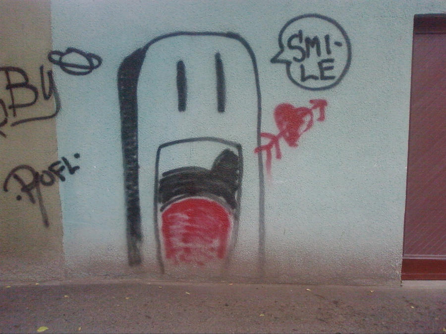 La on the wall by ChibiLover024