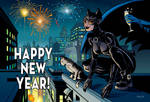 Catwoman Happy New Year
