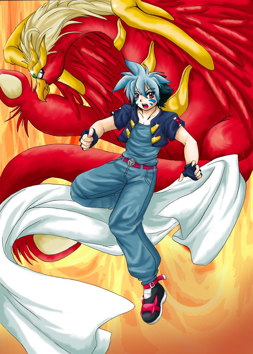 Burning Phoenix by RikaChan3