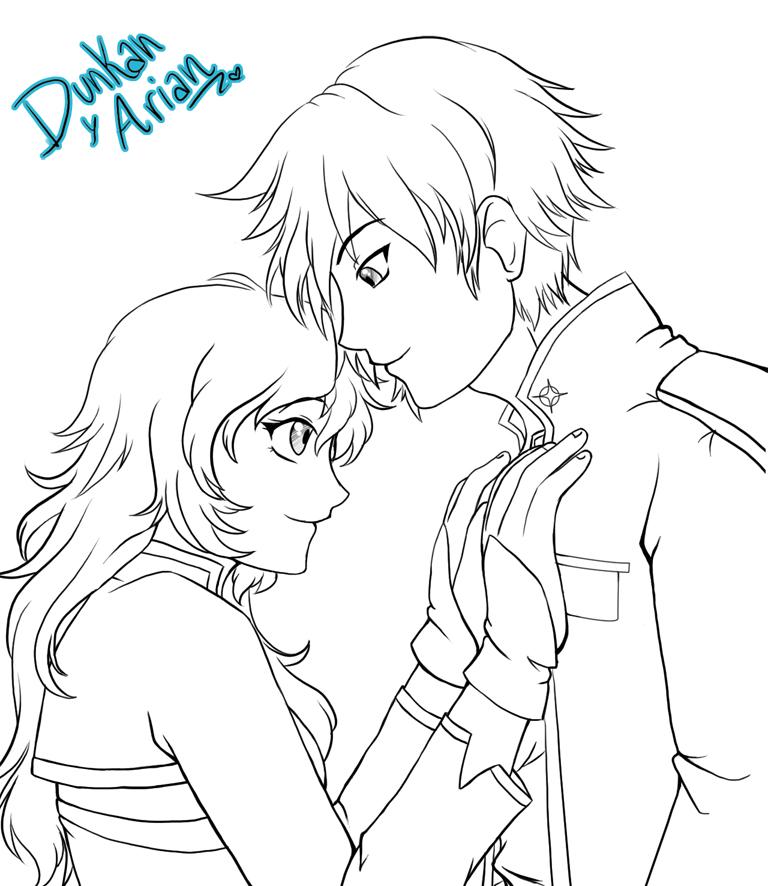 .:Duncan y Arian:. by RikaChan3