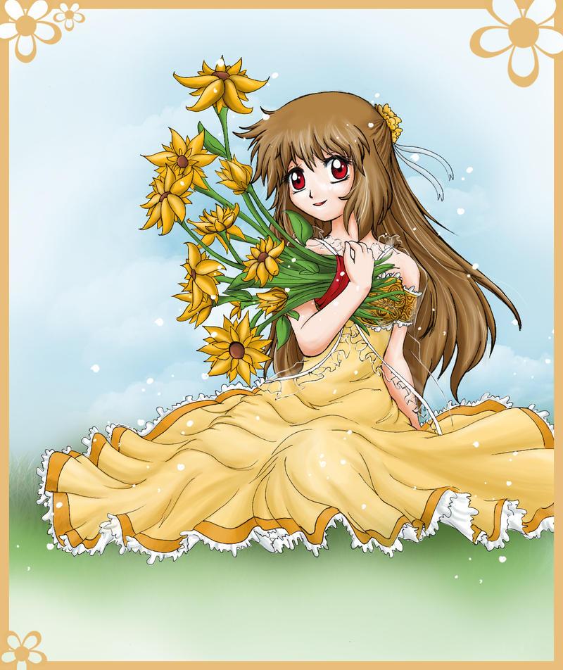.:Sun Flower:. by RikaChan3