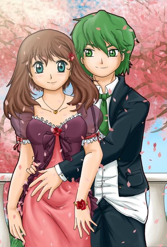 .: Haruka and Shuu:. by RikaChan3