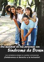 Dia de las personas con Sindrome de Down