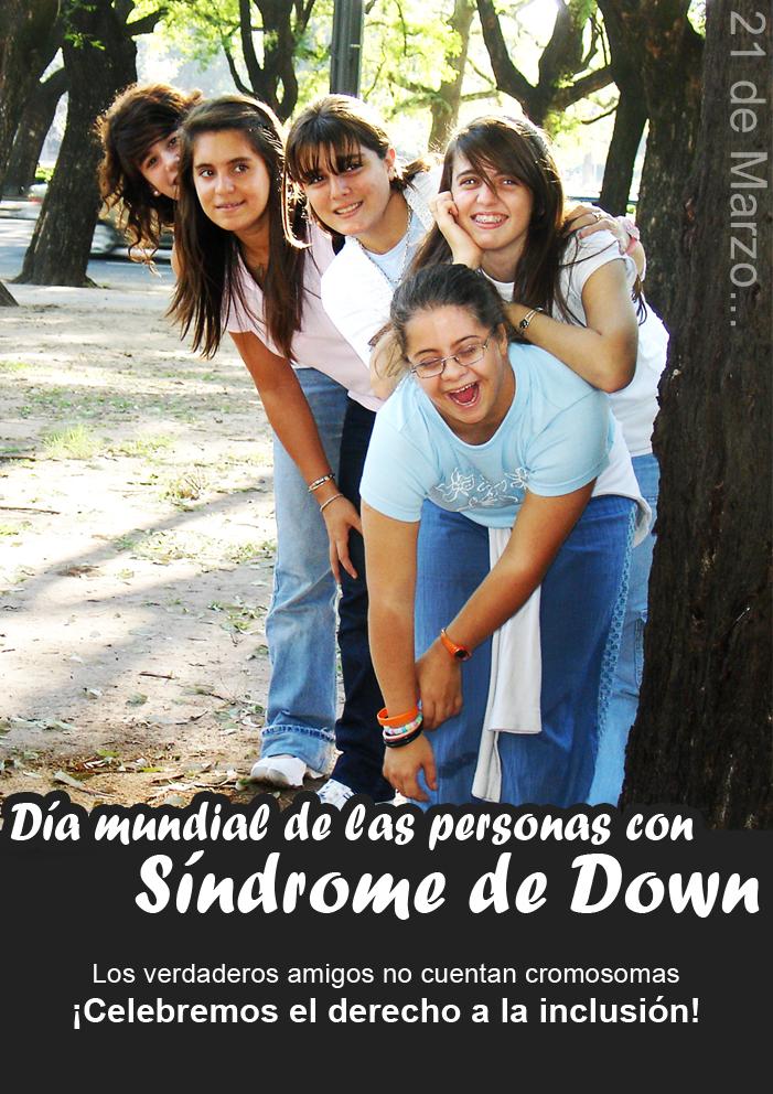 Dia de las personas con Sindrome de Down by RikaChan3
