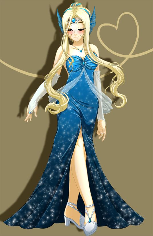 .:Princess Azure:. by RikaChan3