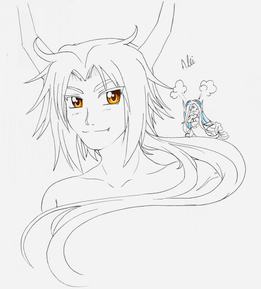 Sketch - 0chidori0 by RikaChan3