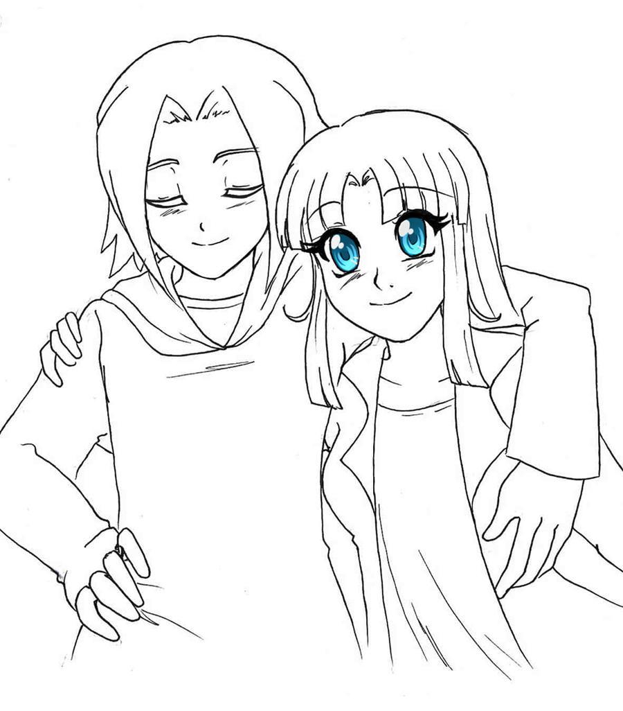 Sketch - Midori by RikaChan3