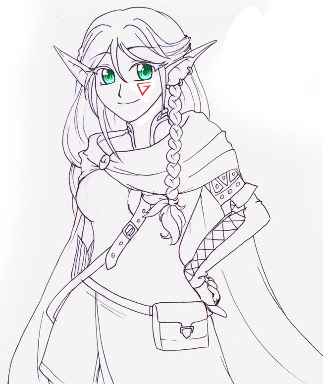 Sketch - RanNiwa by RikaChan3