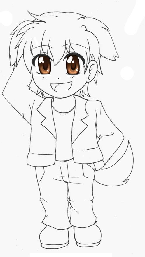 Sketch - CanisChou by RikaChan3