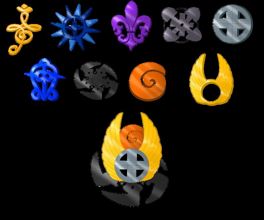 Prize .:Emblems:. original colors by RikaChan3