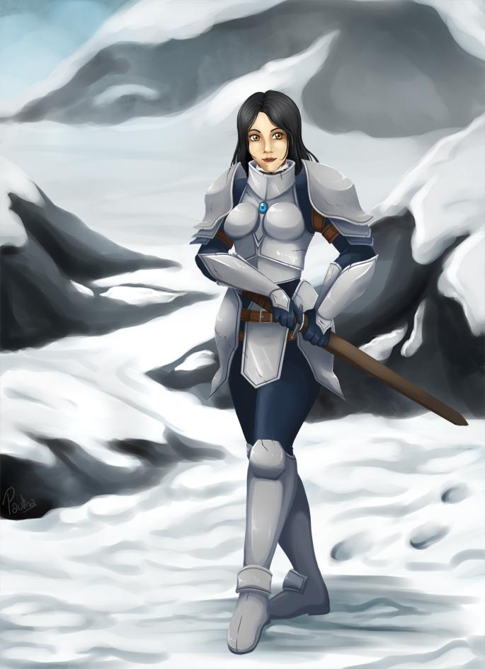 warrior way by RikaChan3