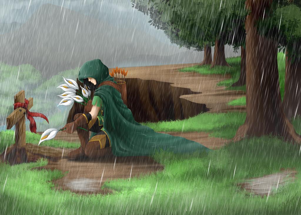 Soul raining by RikaChan3