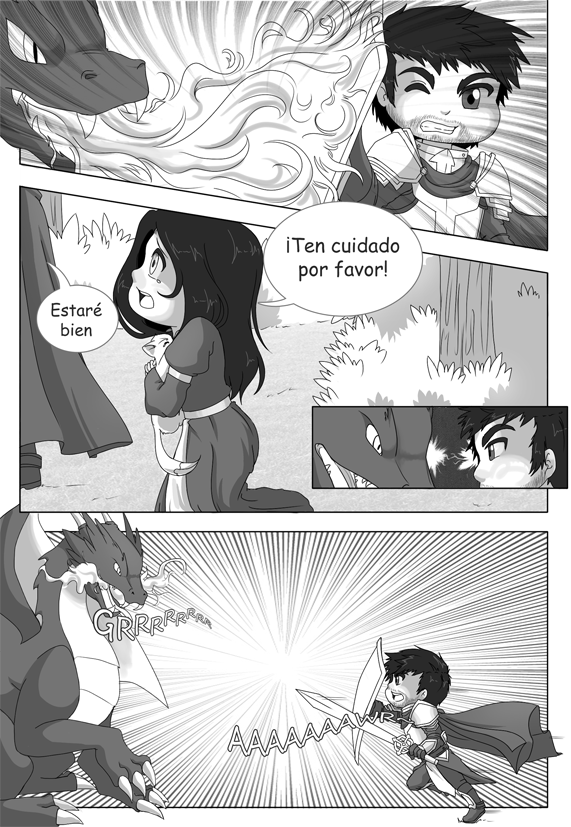 Mordrag and Rika adventures page 05 by RikaChan3