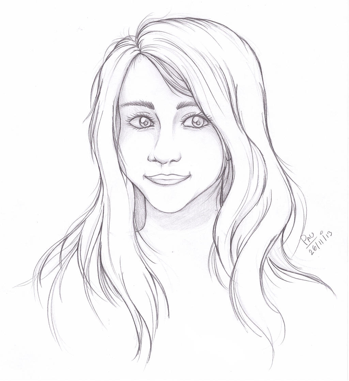 Portrait me by RikaChan3