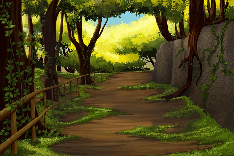 Landscape by RikaChan3