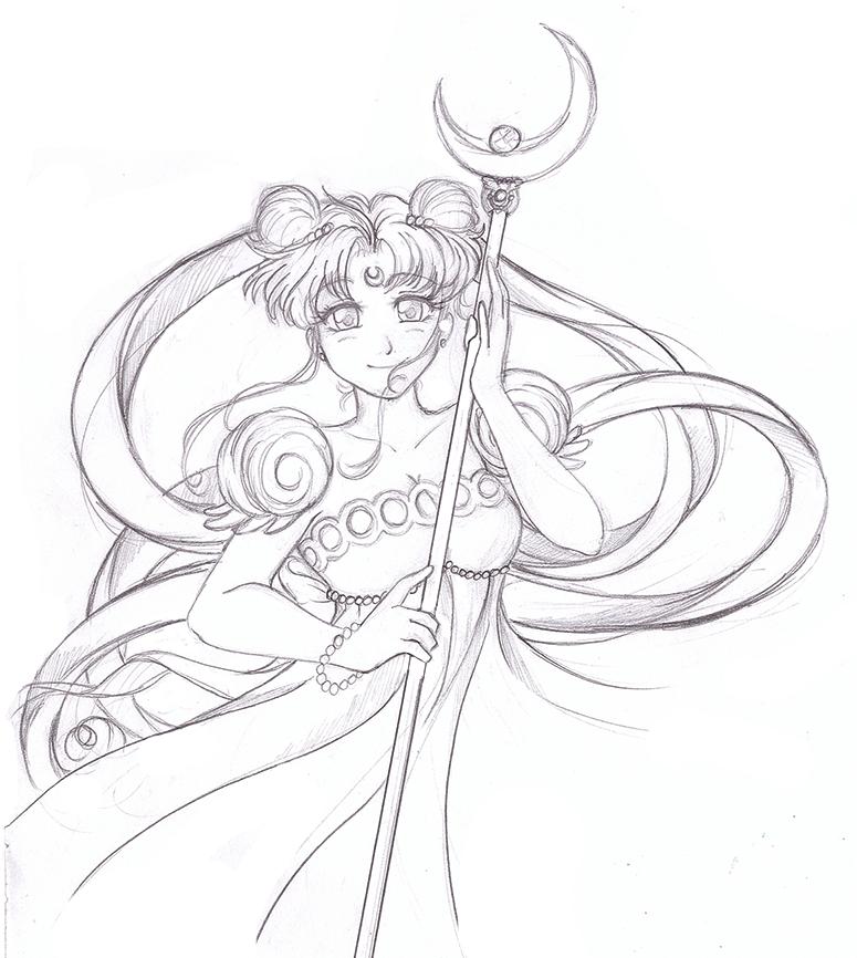 Moon princess by RikaChan3