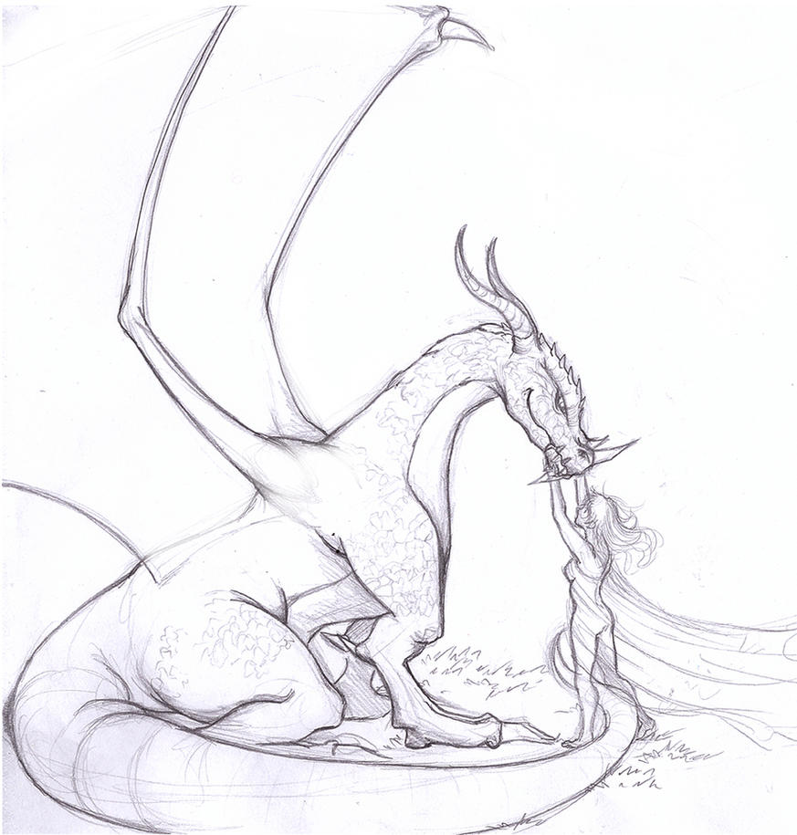 Dragon Practice by RikaChan3