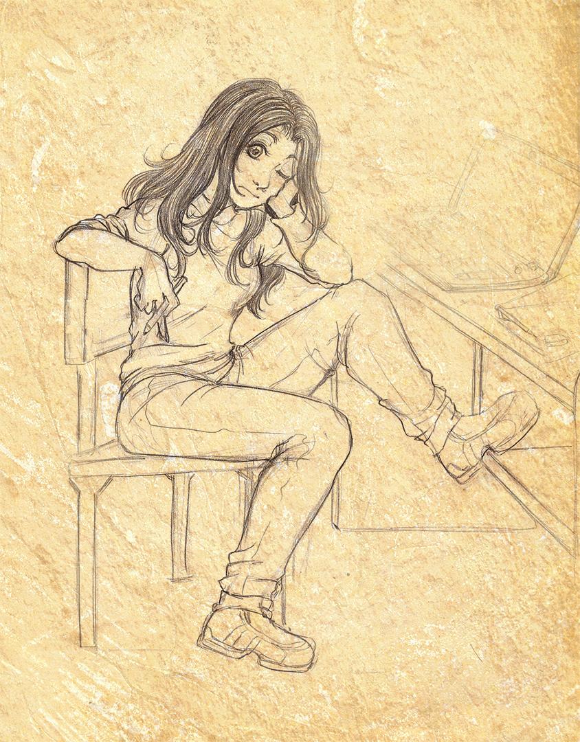 No se que dibujar by RikaChan3