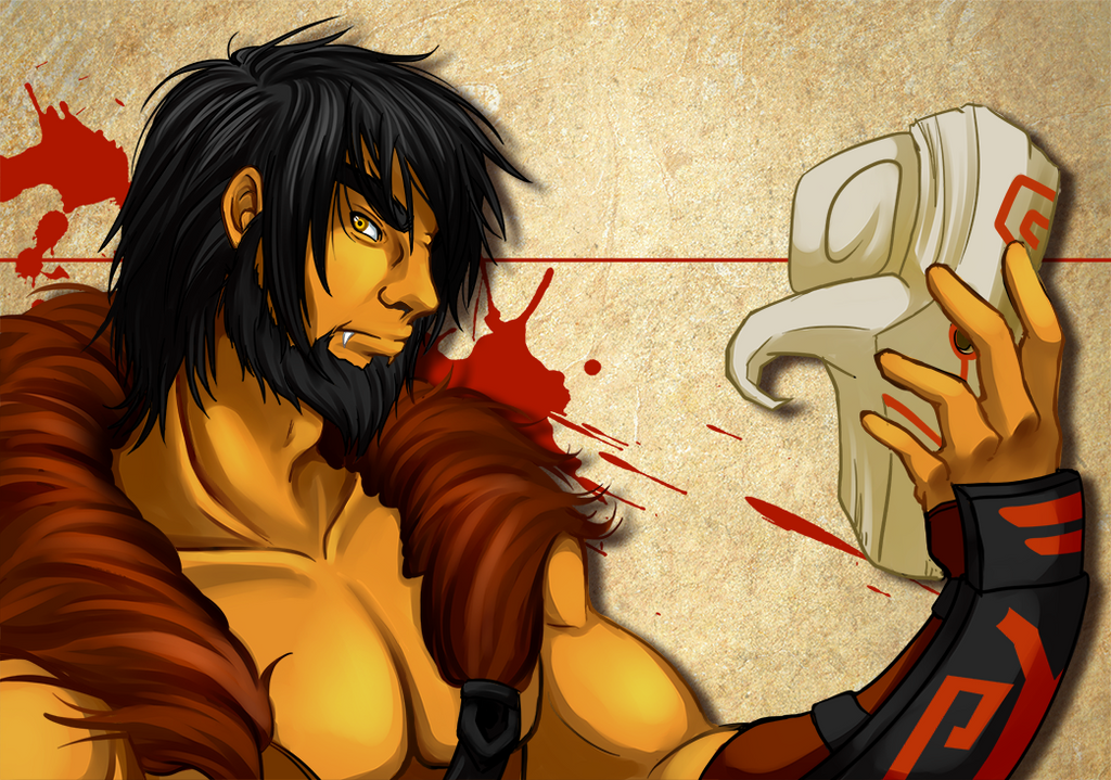 Yurnero the juggernaut by RikaChan3