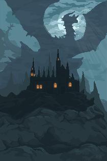 Pixel: Mystery dragon by RikaChan3