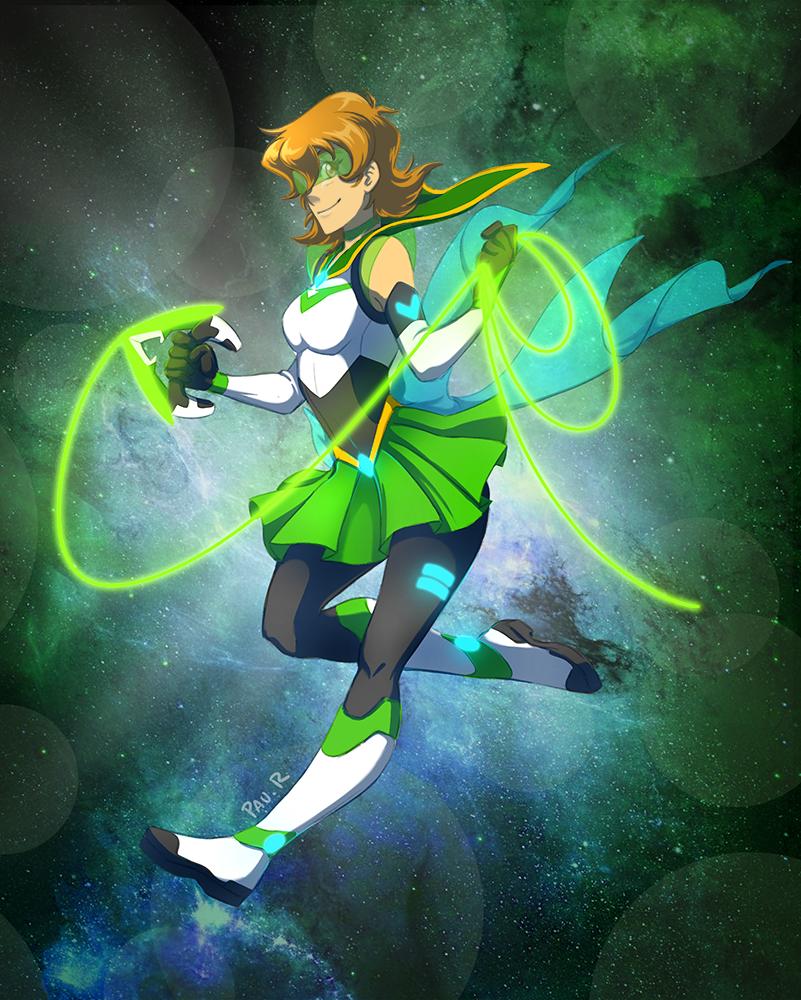 Sailor Green Lion by RikaChan3