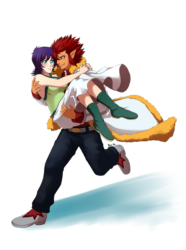 Carrying you by RikaChan3