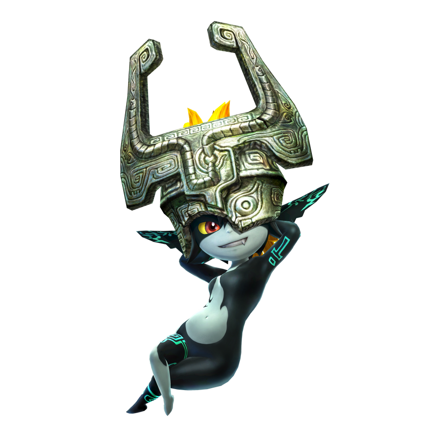 Midna - Hyrule Warriors (render) by Midna0Kildea