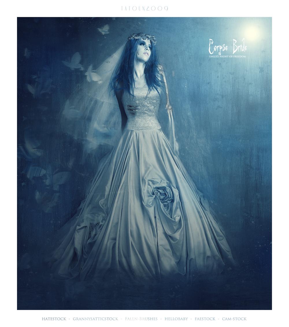 Corpse Bride - Emily by ClaraLunati