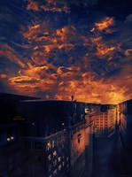 Sur le toit du monde by ClaraLunati