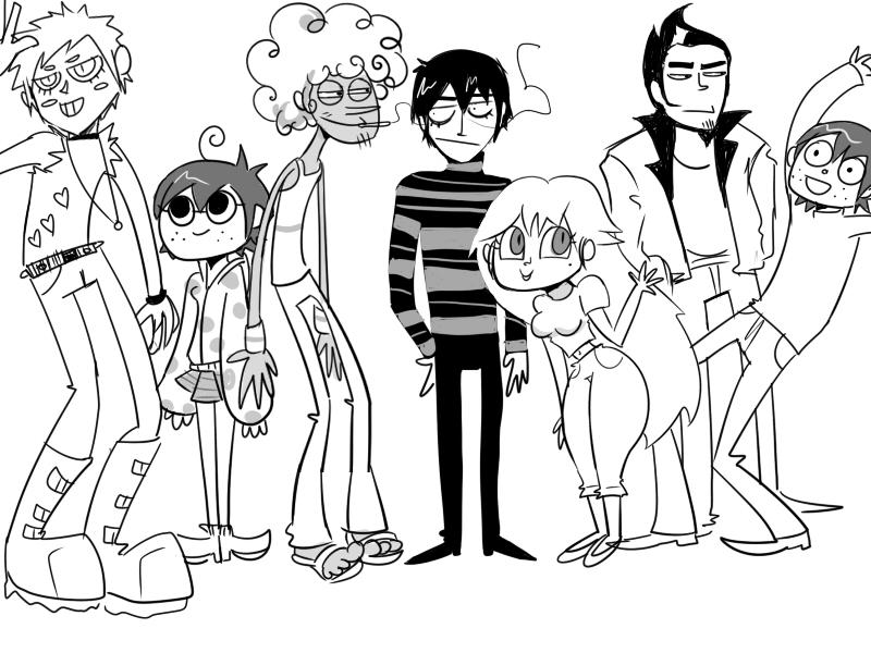 Doodle Art Character Design : Character design doodle by irsaona on deviantart
