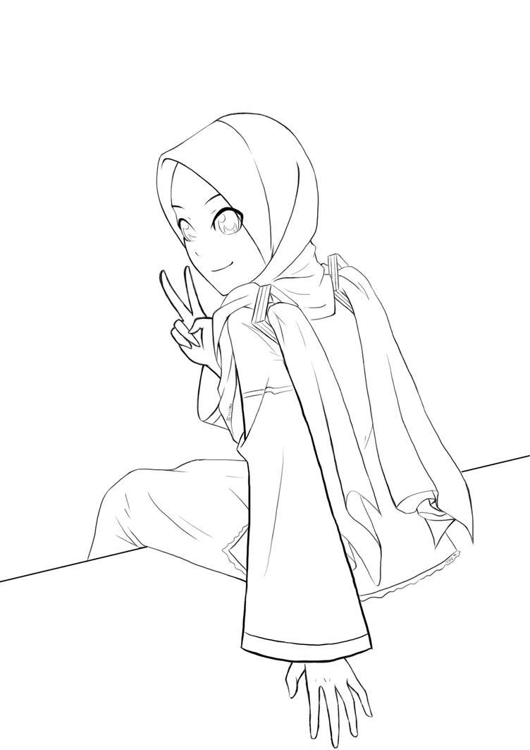 Miku Muslimah(Keisayu Roxas[FB] request) by IXLeoXXV