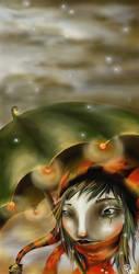 My magic umbrella by painted-ishi