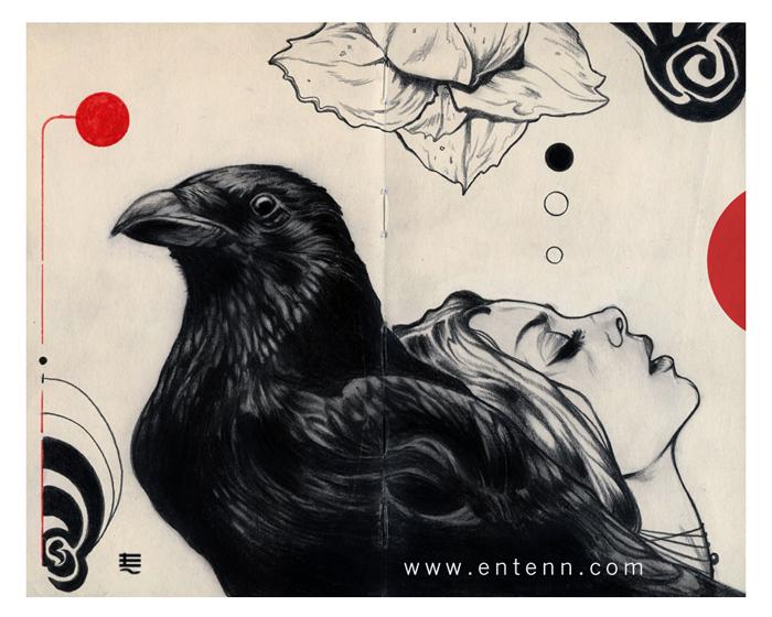 Crow princess by Entenn