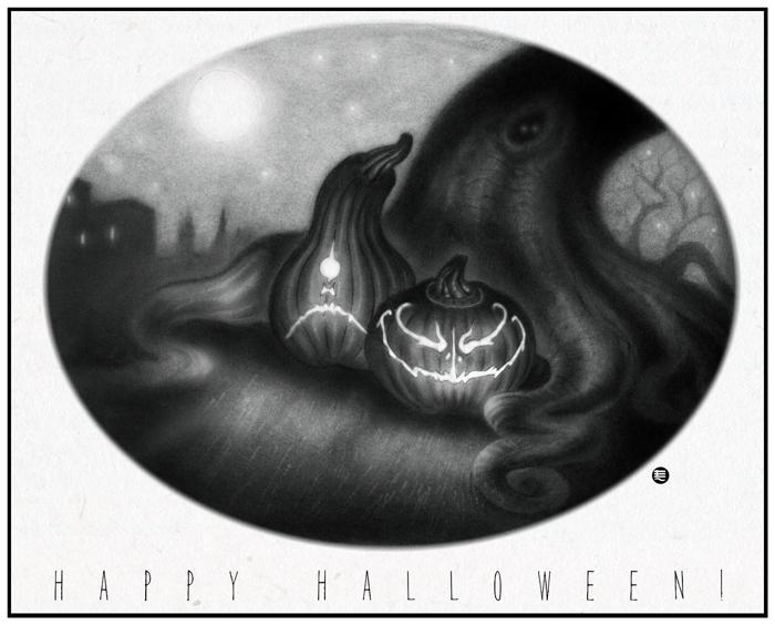 Happy Halloween by Entenn