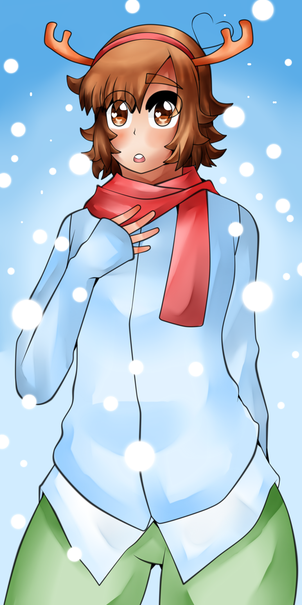 Eros Its Snowing by SimsterD