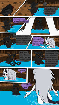Fenrirs alone time ( comic page 1 )