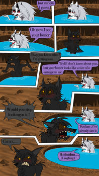 Fenrirs alone time ( comic page 3 )