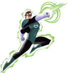 Hal Jordan production art